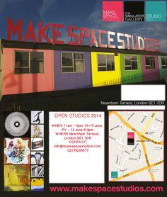 London in Greater London, Greater London Make Space Studios, Newnham terrace, SE1 7DR