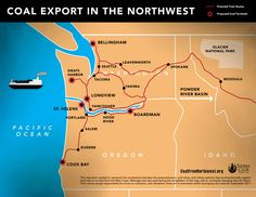 How the Long Journey of Exported Coal Will Impact Multiple States