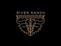 River Ranch Studio logo by Brian Steely.