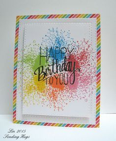Happy Birthday to You by bearpaw - Cards and Paper Crafts at Splitcoaststampers