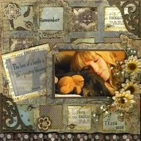 A Project by scrappyhappymom3 from our Scrapbooking Gallery originally submitted 01/29/12 at 01:36 AM