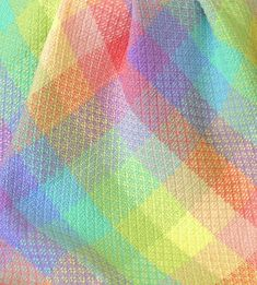 Handwoven baby blanket by Nancy Menzel photo by Aimee Radman Weaving Designs, Weaving Projects, Weaving Textiles, Tapestry Weaving, Handmade Baby Blankets, Pattern Blocks, Textile Art, Colorful Rugs, Fiber Art