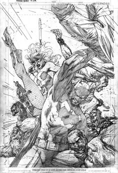 Image result for jim lee superman sketch