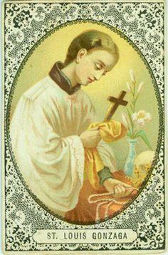 9 Best St Aloysius Gonzaga Images Catholic Catholic