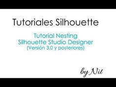 """Tutorial """"Nesting"""" y usos creativos, en Silhouette Studio Designer (Español). - YouTube"""