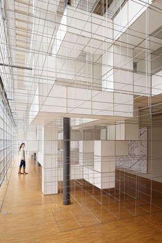 superfuture :: supernews :: tokyo: para-modeling / chimerical scheme of paramodellia (grid, grid) Interaktives Design, Display Design, Store Design, Interior Design, Expo Lego, Grid Architecture, Exhibition Space, Retail Design, Installation Art