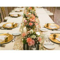 Chemin de table doré : http://www.instemporel.com/s/12597_212554_chemin-de-table-glitter-dore