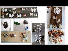 Manualidades con reciclaje conchas y caracoles - Movil de reciclaje - Tips de felicidad - YouTube