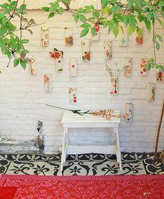 Lovely garden display idea.