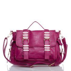 Everyone needs a fuchsia satchel