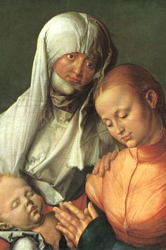 Albrecht Dürer. The Virgin, the Child and St. Anne, 1519. Oil on linden, 60 x 49.8 cm. The Met Museum, New York