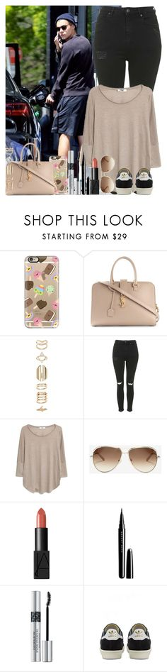"""""""Sans titre #1474"""" by irish26-1 ❤ liked on Polyvore featuring Casetify, Yves Saint Laurent, Accessorize, Topshop, MANGO, Chloé, NARS Cosmetics, Marc Jacobs, Christian Dior and adidas"""