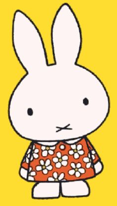 Nijntje By Dick Bruna Quilted Baby Blanket, Miffy, Funny Bunnies, Cute Toys, Colour Board, Coldplay, Book Illustration, Baby Quilts, Adult Coloring