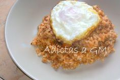 OLLAS GM RECETAS .Adictas a GM: Arroz a la cubana Coco, Grains, Casserole Recipes, Pots, Norte, Seeds, Korn