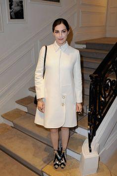 Amira Casar au défilé Dior Couture