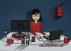 Ich mag' Antje ja. :-) Sie schreibt das Entwicklertagebuch und begleitet die Weiterentwicklung von inside.bahn.de.