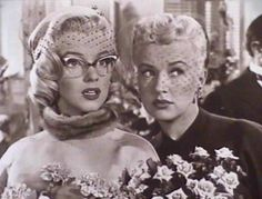 Marilyn Monroe and Betty Grable, teamed up along with Lauren Bacall to make How To Marry a Millionaire