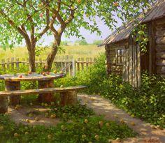 Дмитрий Лёвин. Яблочный спас