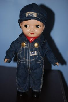 Capable Lee Riders Blue Denim Jeans White Striped Baby Train Conductor Railroad Pants 18 To Have A Long Historical Standing Baby & Toddler Clothing