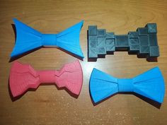 Clip on Bow Ties by t0wer - Thingiverse