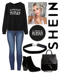 """Untitled #113"" by simplyemilieb ❤ liked on Polyvore featuring WithChic, Skechers, Rebecca Minkoff and Miss Selfridge"