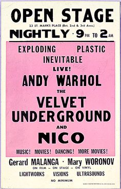 letter press original punk posters - Google Search