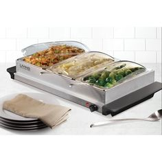 Oster Triple Buffet Warming Tray Combo 49 99 Quantity