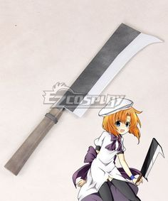 Higurashi When They Cry Rena Ryugu Sword Cosplay Weapon Prop Cosplay Weapons, Buy Cosplay, Comic Con Cosplay, Cosplay Costumes, Cosplay Ideas, When They Cry, Toddler Halloween Costumes, Autumn Fashion Casual, Teen Fashion