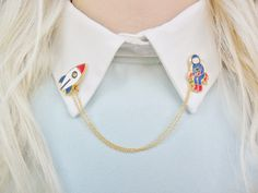 Astronaut Spaceman Rocket Spaceship Space Universe Solar System Pin Badge Collar Pins Brooch by Hoodratroughdiamond on Etsy https://www.etsy.com/listing/253567640/astronaut-spaceman-rocket-spaceship