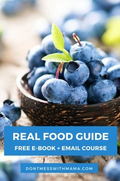 Want to transition to a real food, gluten free lifestyle? I'll show you how in my FREE e-book and email course - DontMesswithMama.com