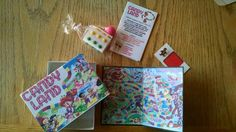 Candy land invitations baby shower