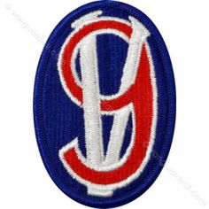 Army Patch: 95th Infantry Training Division - color