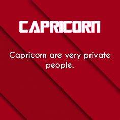 #Capricorn: That's a severe understatement.