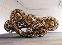 Sculpture by Richard Deacon
