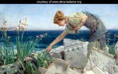 Among the Ruins - Sir Lawrence Alma-Tadema - www.alma-tadema.org