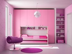 Home Room Design, Kids Room Design, Home Interior Design, Small Room Bedroom, Bedroom Decor, Pinterest Room Decor, Bunk Beds With Drawers, Teen Bedroom Designs, Pink Bedrooms
