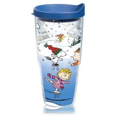 Peanuts® Ice Skaters Tumbler with Lid