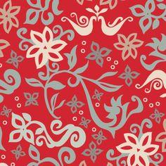 FF12-TEX-113_Fusion_Print_Red fabric by modernprintcraft on Spoonflower - custom fabric