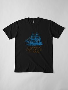 """""""GO DOWN TO THE SEA AGAIN"""" T-shirt by Madjack66 