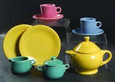 Homer LaughlinFiesta-Child's Tea Set (Newer) at Replacements, Ltd