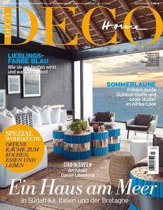 Unsere Sommer-Ausgabe von DECO HOME: Design-Highlights, Einrichtungs-Tipps, Reise nach Südafrika und die schönsten Stoffe der Saison / Foto: GAP Interiors