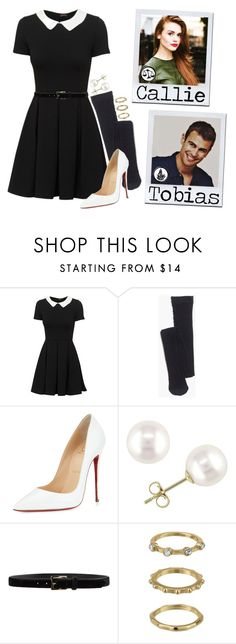 """Callie Wilton - Divergent prp"" by madfashionaddict ❤ liked on Polyvore featuring Madewell, Christian Louboutin, Miadora, D'Amico and Sam Edelman"