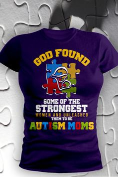 Being an autism mom requires strength.  And we applaud you.  Autism awareness is acceptance.
