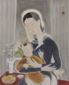 LE PHO  1907 - 2001  MOTHER AND CHILD