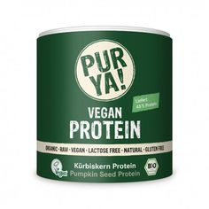 PUR YA! Pompoenpit Raw Vegan Organic proteïne (250 gram)