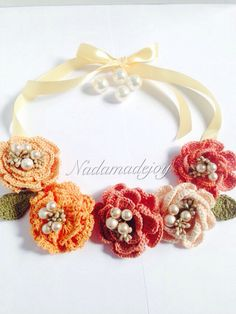 Gorgeous necklace by me  Instagram/ nadamadejoy