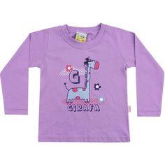 Camiseta infantil fofa de girafinha, nos tamanhos 1, 2, 3 e 4, em 3 cores, por $19.30! Da Jaca-Lelé. Aqui: http://www.764kids.com.br/ListaProdutos.asp?IDLoja=19402=3804689302977=False=True=41136=0=0    Quer ver todas as novidades de inverno? Aqui: http://www.764kids.com.br/ListaProdutos.asp?IDLoja=19402=True