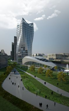 BBK Bank Headquarters - Architecture - Zaha Hadid Architects