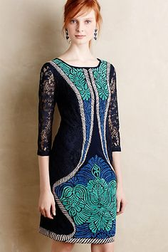 Indrani Lace Dress #anthropologie #anthrofave