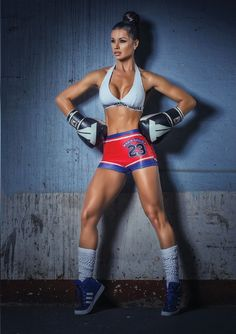 beautiful boxer shoot w/ PERFECT 10 Brazilian muscle babe & #Fitness model Fernanda D'Avila : if you LOVE Health, DIY Workouts & #Inspirational Body Goals - you'll LOVE the #Motivational designs at CageCult Fashion: http://cagecult.com/mma